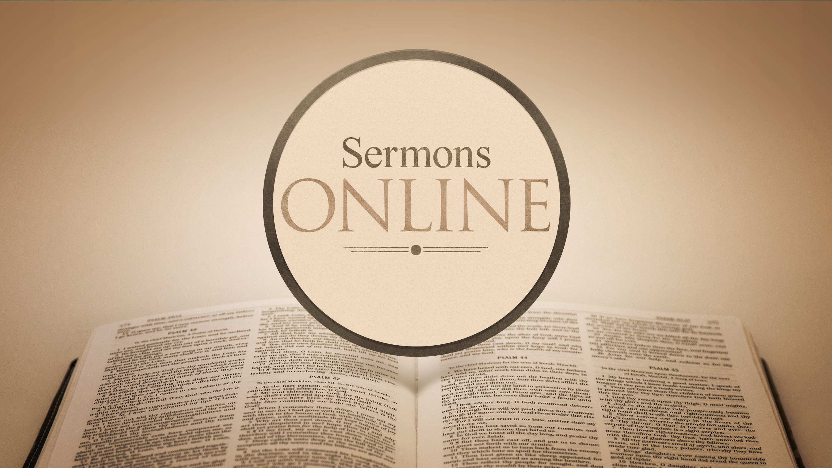 Online sermons about dating